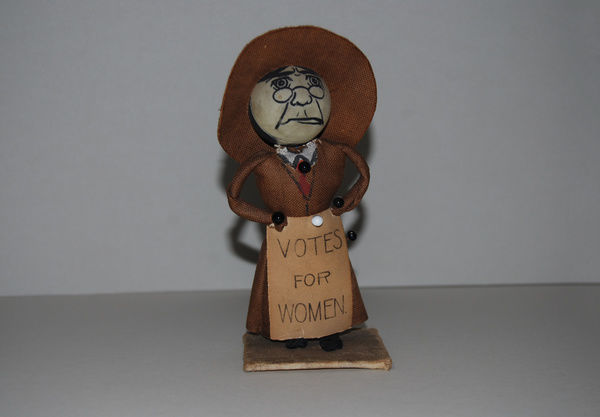 Suffragette Votes for Women Doll