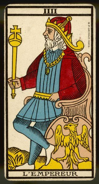 Tarot Card 4 - L'Empereur (The Emperor)