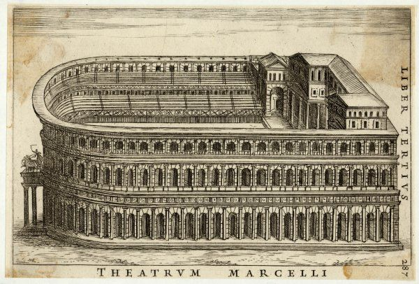 Reconstruction of the Theatre of MARCELLUS