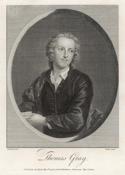 THOMAS GRAY/WRITER. THOMAS GRAY Writer
