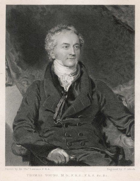 THOMAS YOUNG medical, scientist, Egyptologist