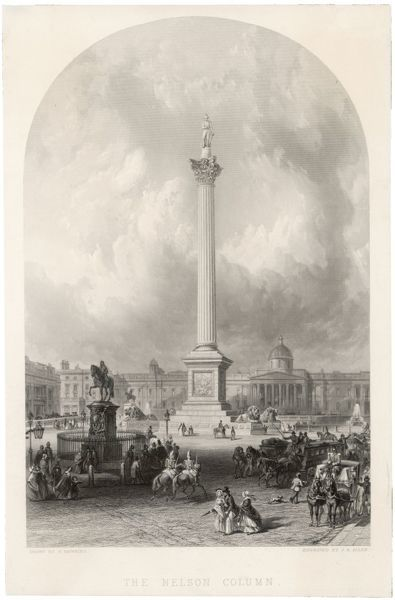 Trafalgar Square and Nelson's Column