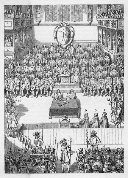 Trial of King Charles I