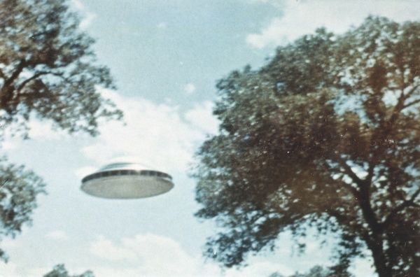 UFO from Coma Berenices whose nine occupants spoke with Paul Villa for 90 minutes at Peralta, though what they talked about, no one knows 2 of 4
