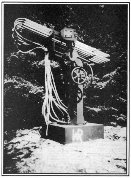One of Wilhelm Reich's weather-influencing devices which also affect UFOs, and could perhaps destroy them