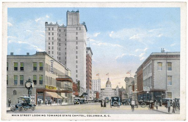 Columbia, South Carolina: Main Street
