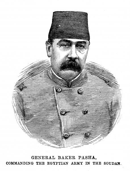 VALENTINE BAKER English military known also as Baker Pasha Served in Kaffir and Crimean Wars