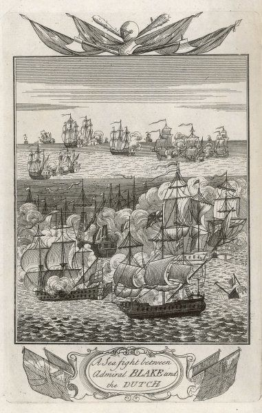 Van Tromp leads the Dutch in the defeat of the English, led by Blake in the Dover Roads