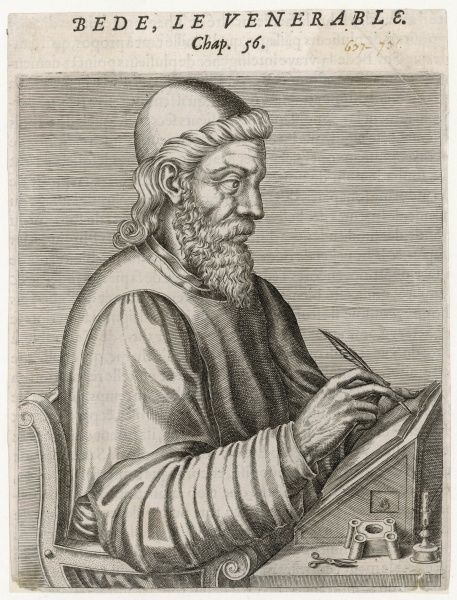 THE VENERABLE BEDE Anglo-Saxon scholar, historian and theologian