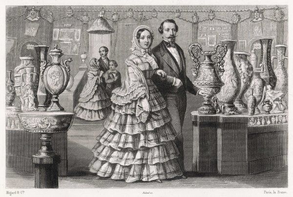 Victoria with Napoleon III at the Exposition Universelle in Paris