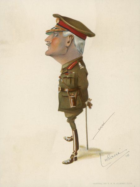 VISCOUNT ALLENBY. EDWARD HENRY HYNMAN ALLENBY, 1ST VISCOUNT ALLENBY Field marshal