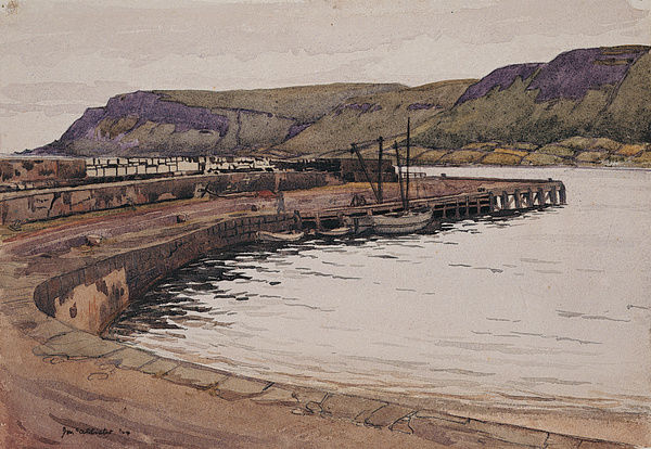 Waterfoot Harbour, Co. Antrim