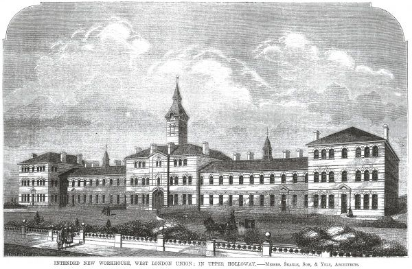 West London Union Workhouse, Upper Holloway, London