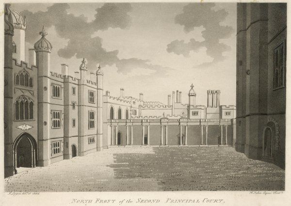 WESTMINSTER/1786. North front of the second principal court
