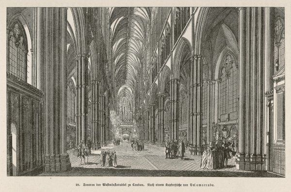 Interior of Westminster Abbey