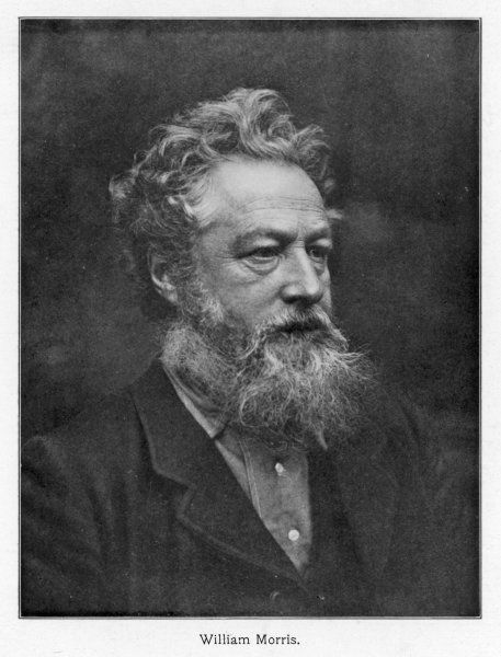 WILLIAM MORRIS English poet and artist