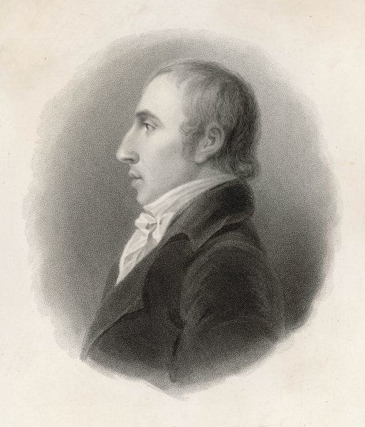 WILLIAM WORDSWORTH English writer, as a young man, in 1798