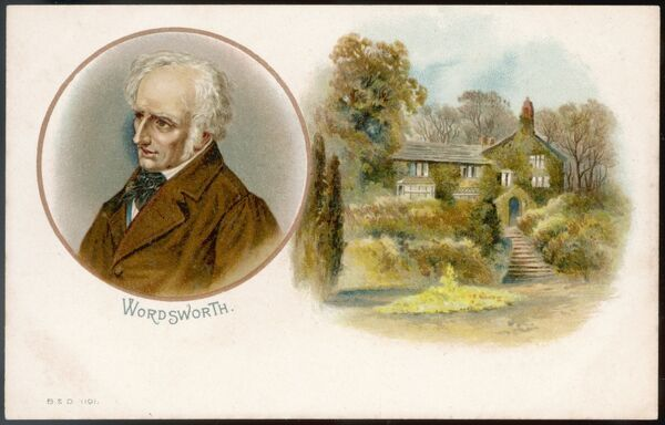 WILLIAM WORDSWORTH English writer, in later life