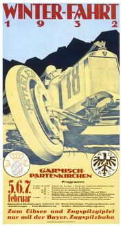 Advert for the 1932 Motor Racing Festival