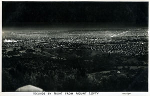 new items grenville collins collection/adelaide south australia night viewed mount
