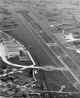Aerial view of the Bristol Filton site in 1949