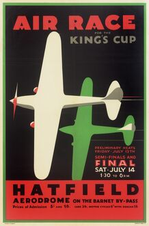 Air Race for the King's Cup Poster