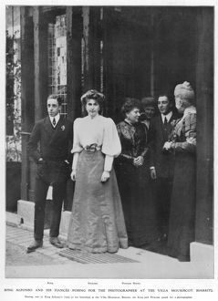 Alfonso XIII and Princess Ena of Battenberg engagement
