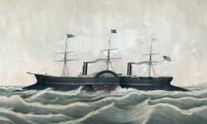 The American steamship Columbia, of New York for Europe