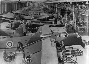 Armstrong Whitworth Whitley production