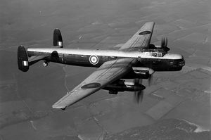 Avro Lincoln RF403 testbed