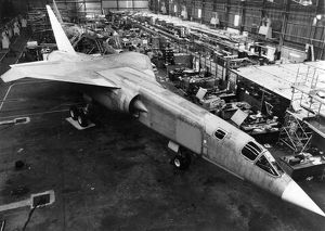 BAC TSR-2 production line
