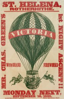 Balloon event, Charles Green