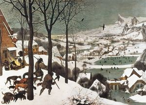 Breugel, Pieter, The Elder. Hunters in the Snow.