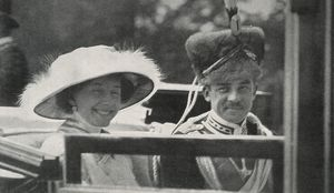 Bride and groom: Berlin royal wedding 1913