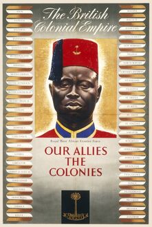 British Colonial Empire Poster