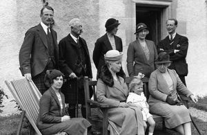 British Royal Family at Elsick House in 1931.