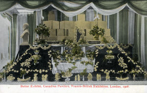 new items grenville collins collection/butter exhibit canadian pavilion franco british