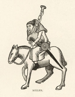 CHAUCER, THE MILLER