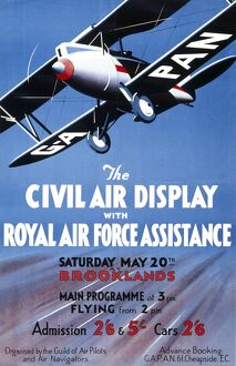 CIVIL AIR DISPLAY- 1920S