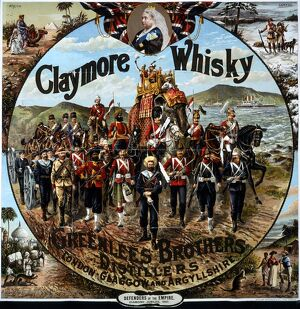 Claymore Whisky advert