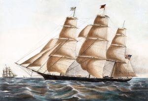 Clipper Ship Young America.