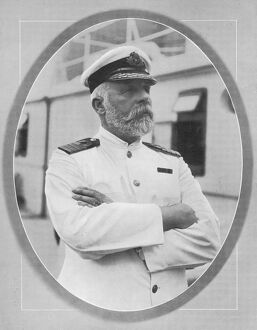 COMMANDER E. SMITH, CAPTAIN OF THE TITANIC