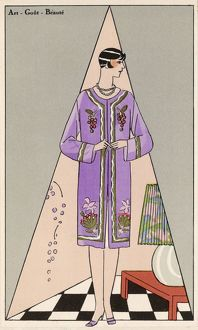 COSTUME/POIRET/WOOL COAT