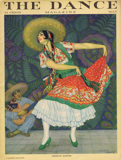 cover dance magazine may 1926
