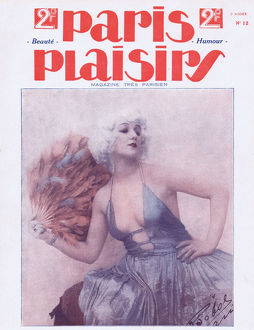cover paris plaisirs number 12 may 1923