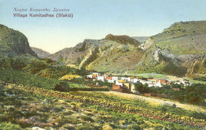 new items grenville collins collection/crete greece village komitadhes sfakia