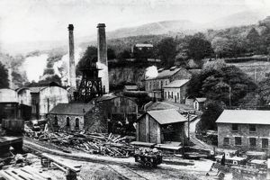 Cwmpennar Colliery, Glamorgan, South Wales