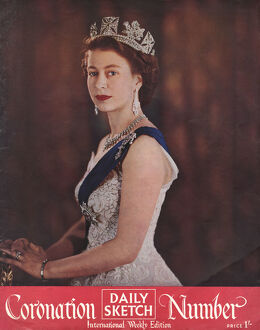 Daily Sketch Coronation Number 1953 Queen Elizabeth II