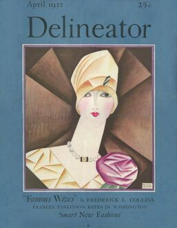 Delineator cover April 1927