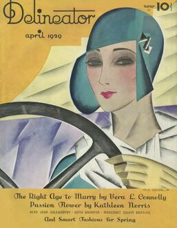 Delineator magazine front cover April 1929